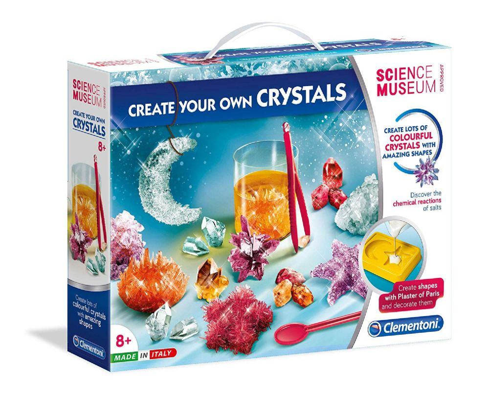 Create Your Own Crystals Laboratory Clementoni by Science Museum